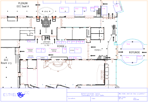 Standplan ECC Foyer 1, Rotunde
